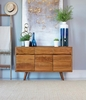 Barrett Natural Acacia Wood Accent Cabinet by Coaster