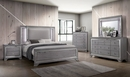 Alanis Light Gray Wood 2-Drawer Nightstand by Furniture of America