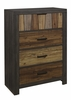 Cooper Multi-Tone Wire Brushed Finishes Wood Chest by Homelegance