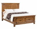 Brenner 4-Pc Rustic Honey Wood Full Storage Bed Set by Coaster