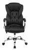Kerol Black Leatherette Adjustable Office Chair by Coaster