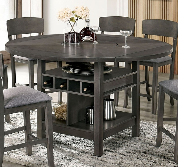 Stacie Gray Extendable Counter Height Table by Furniture of America