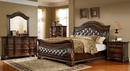 Cinzia Rich Cherry King Bed (Oversized) by McFerran Home Furnishings