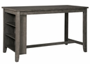 Signature Design Caitbrook Dark Gray Counter Height Table by Ashley