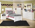 Signature Design Bostwick Shoals 5-Pc White Twin Bedroom Set by Ashley