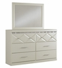 Signature Design Dreamur 5-Pc Champagne Twin Bedroom Set by Ashley