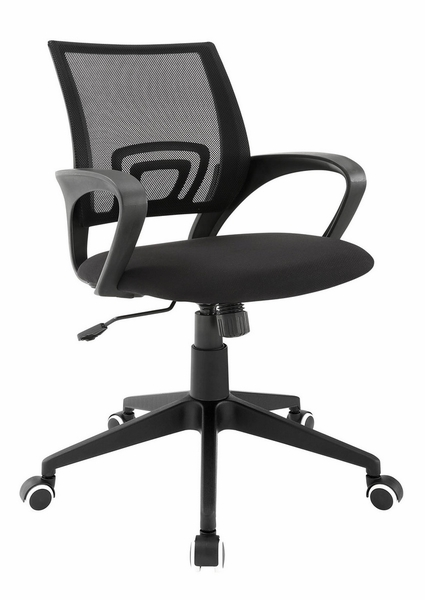 Twilight Black Mesh/Plastic Office Chair by Modway