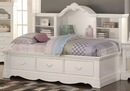 Estrella White Pine Wood Twin Daybed with Storage by Acme