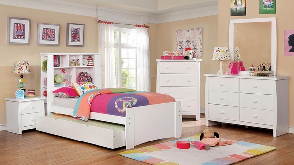 Marlee White Wood Chest by Furniture of America