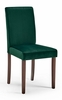 Prosper 2-Pc Green Velvet/Wood Side Chairs by Modway