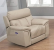 Emer Pebble Leather Power Recliner by American Eagle Furniture