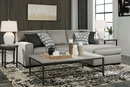 Benchcraft Marsing Nuvella 2-Pc Slate RAF Sectional by Ashley