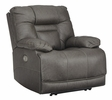 Signature Design Wurstrow Smoke Power Recliner by Ashley