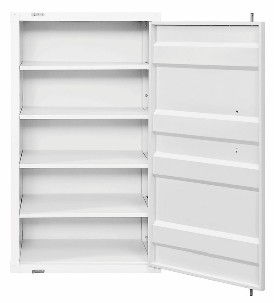 Cargo White Metal Chest w/Single Door by Acme