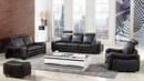Cherice Black Bonded Leather Chair by American Eagle Furniture