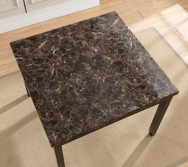Annabella Brown/Black Counter Height Table by Milton Greens Stars