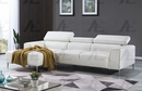 Andrina 2-Pc White LAF Sectional Sofa by American Eagle Furniture