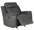 Signature Design Jesolo Dark Gray Manual Rocker Recliner by Ashley
