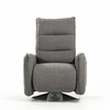 Divani Casa Fairfax Gray Fabric Manual Recliner by VIG Furniture