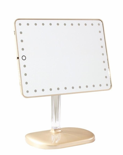 Touch Pro LED Gold Makeup Mirror by Impressions Vanity