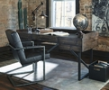 Signature Design Starmore 2 Brown Home Office Desk Chairs by Ashley