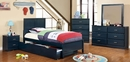 Prismo Blue Nightstand by Furniture of America
