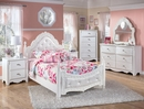 Signature Design Exquisite White Wood 6-Drawer Dresser by Ashley
