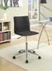 Glynis Black Fabric Upholstered Office Chair by Coaster
