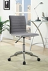 Glynis Grey Fabric Upholstered Office Chair by Coaster