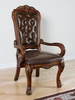 Dresden Cherry Oak Wood/PU Leather Office Chair by Acme