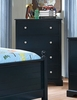 Diane Blue Solid Wood Chest by Furniture of America
