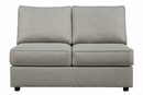 Benchcraft Marsing Nuvella 5-Pc Slate LAF Sectional by Ashley