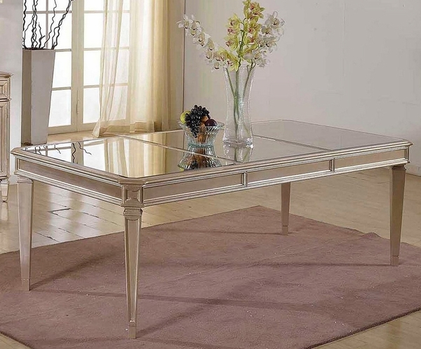 Armida Bronze Glass Dining Table (Oversized) by Best Master Furniture