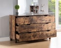 Essence Distressed Wood 6-Drawer Dresser by ID USA