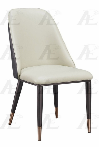 Marci 2 Light Gray/Dark Gray Side Chairs by American Eagle Furniture