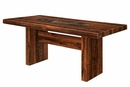 Bonneville Brown Cherry Dining Table by Furniture of America
