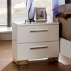Clementine Contemporary White Nightstand by Furniture of America