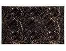 Colman Black Faux Marble Top Dining Table by Furniture of America