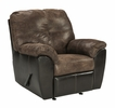 Signature Design Gregale Coffee Manual Rocker Recliner by Ashley