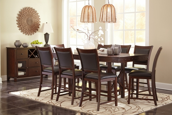 Signature Design Collenburg Dark Brown Counter Height Table by Ashley