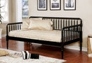 Linda Black Wood Twin Daybed by Furniture of America