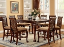 Petersburg Cherry Counter Height Table w/ Leaf by Furniture of America
