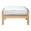 Natsepa Natural Finish Smooth Well Sanded Ottoman by Anderson Teak