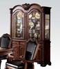 Chateau De Ville Cherry Wood/Glass Buffet with Hutch by Acme