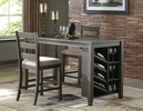 Signature Design Rokane Warm Brown Counter Height Table by Ashley
