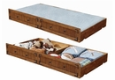 Coronado Rustic Honey Wood Twin Daybed with Storage Trundle by Coaster