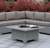 Bushnell Gray Square Coffee Table by Furniture of America