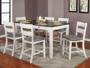 Anadia Two-Tone Wood Counter Height Table by Furniture of America