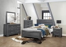 Beechnut Contemporary Gray Wood King Bed by Homelegance