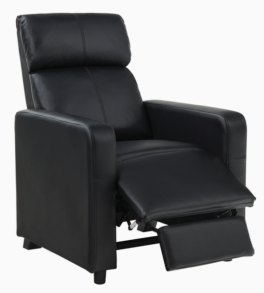 Toohey 7-Pc Black Manual Recliner Home Theater Set by Coaster